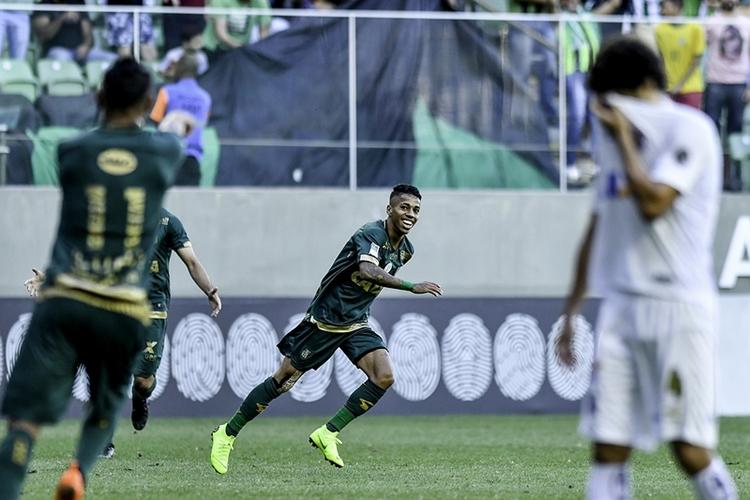 América-MG venceu o Santos por 2 a 1. Foto: Mourão Panda/América-MG