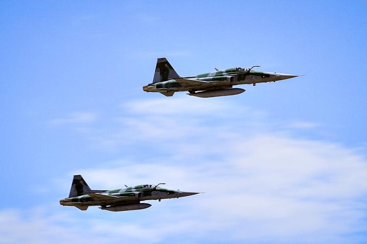 Aviões da FAB. Foto: Sgt Johnson/FAB