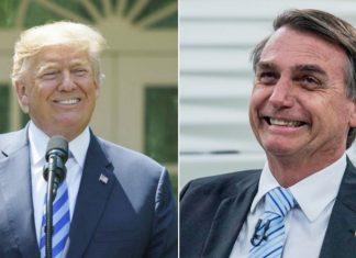 Trump e Bolsonaro. Foto: Reprodução