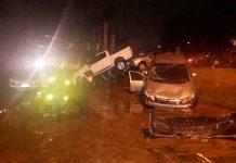 Chhuva em BH deixou mortos. Foto: Corpo de Bombeiros/Divulgação