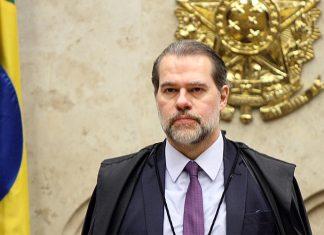 Ministro Dias Toffoli preside sessão do STF. Foto: Nelson Jr./SCO/STF