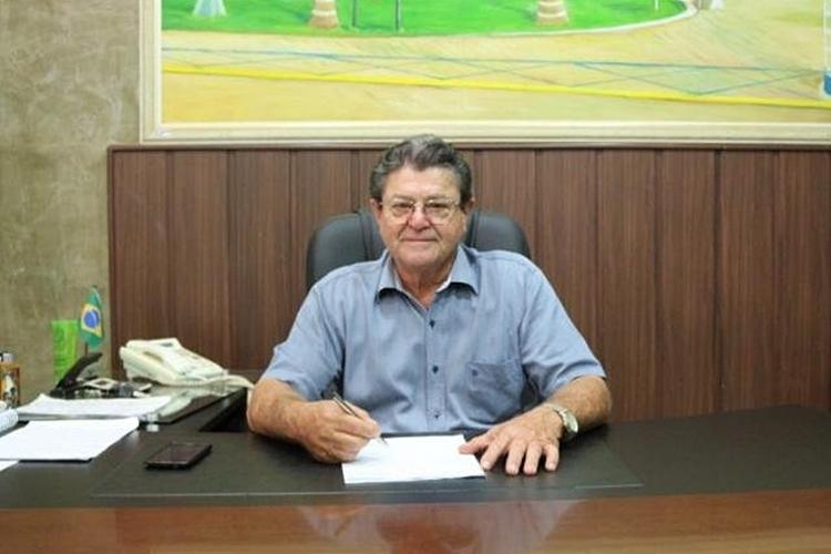 Prefeito de Rio Brilhante, Donato Lopes da Silva. Foto: Divulgação