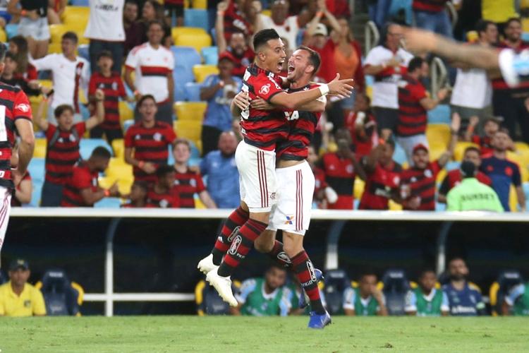 Flamengo venceu o Grêmio. Foto: Gilvan de Souza/Flamengo