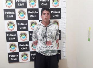 Homem foi preso em Glória de Dourados. Foto: Divulgação