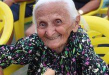 Antônia Conceição da Silva, de 106 anos. Foto: Reprodução