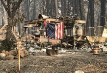 Incêndio na Califórnia. Foto: White House/Fotos Públicas