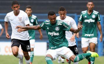 Palmeiras vence o Corinthians e é campeão. Foto: Fabio Menotti/Agência Palmeiras