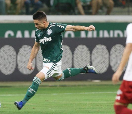 Palmeiras empata com o Paraná. Foto: Cesar Greco/Agência Palmeiras