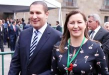 Rafael Moreno Valle e Martha Erika Alonso. Foto: Reprodução