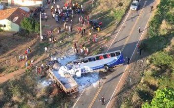 Acidente em Campos Sales deixa mortos e feridos. Foto: Divulgação