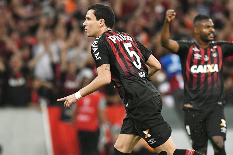 Athletico venceu no Paraná. Foto: Miguel Locatelli/Athletico Paranaense