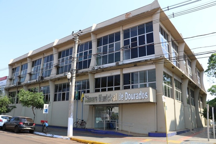 Câmara de Dourados. Foto: Divulgação
