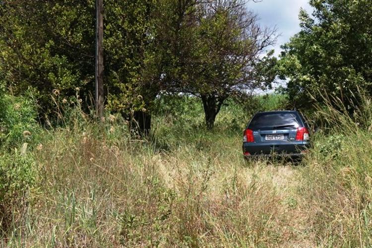 Carro e corpo do professor Paulo Henrique foram encontrados. Foto: Ivinotícias/Reprodução