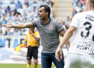 Jair Ventura. Foto: Rodrigo Gazzanel/Agência Corinthians