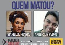 Assassinato de Marielle Franco e Anderson Gomes completa 9 meses. Foto: Reprodução