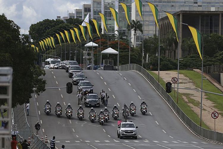Ensaio da posse de Jair Bolsonaro. Foto: José Cruz/Agência Brasil
