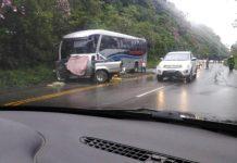 Acidente ocorreu na manhã deste domingo na Serra. Foto: Reprodução
