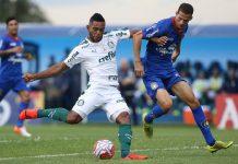 Borja fez um dos gols do Verdão. Foto: Cesar Greco/Agência Palmeiras