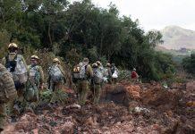 Militares israelenses começam resgate de vítimas em Brumadinho. Foto: Israel Defense Forces