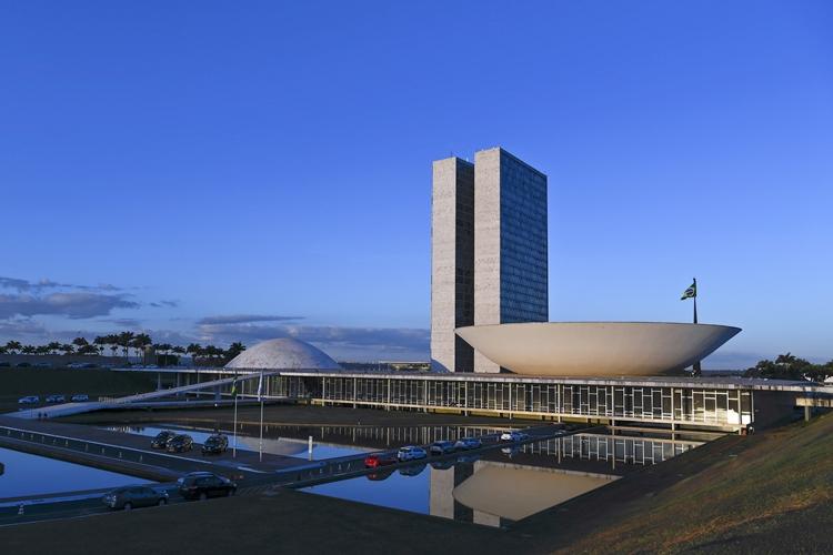 Fachada do Congresso Nacional. Foto: Pedro França/Agência Senado
