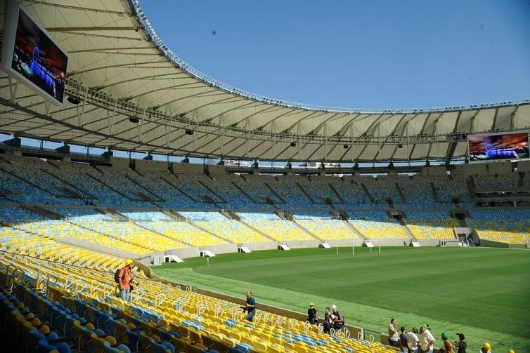 Maracanã poderá ser palco da final da  Libertadores de 2020. Foto: Tânia Rêgo/Agência Brasil