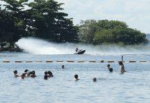 Balneário municipal Três Lagoas: opções de lazer e diversão não faltam. Foto: Divulgação