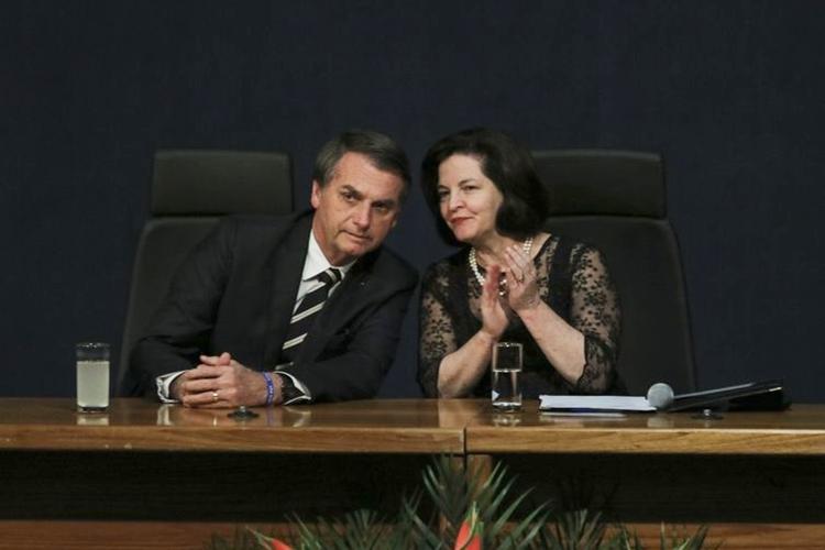 Jair Bolsonaro e Raquel Dodge. Foto: Wilson Dias/Agência Brasil