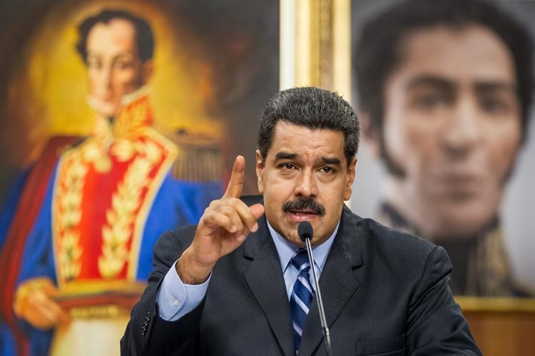 Nicolás Maduro. Foto: Miguel Gutierrez/Agência Lusa via Agência Brasil