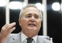 Renan Calheiros. Foto: Edilson Rodrigues/Agência Senado