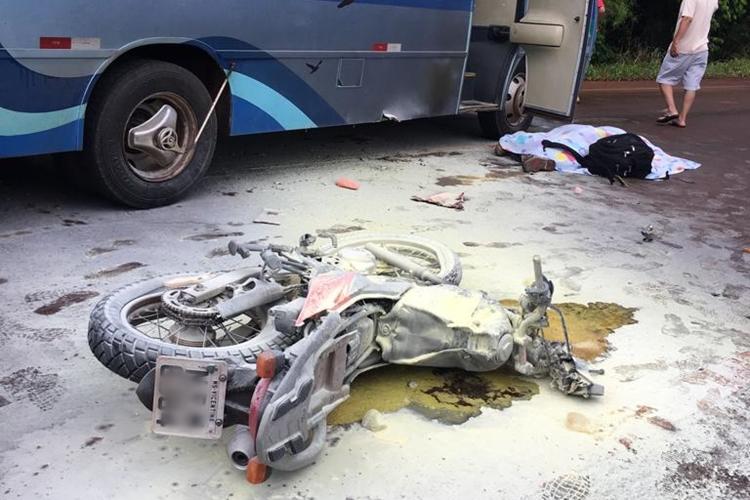 Acidente aconteceu entre Fátima do Sul e Dourados. Foto: Reprodução