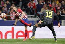 Atlético vence a Juventus. Foto: Reprodução/Twitter/@Atleti