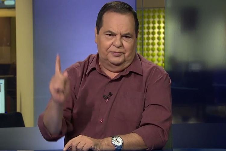 O jornalista Roberto Avallone. Foto: Reprodução/TV Globo