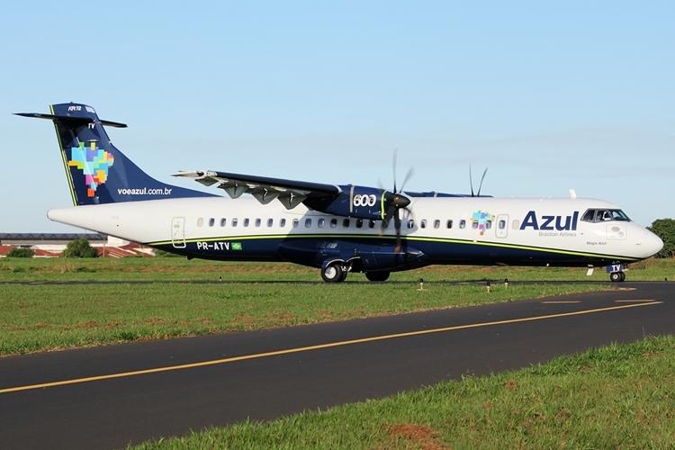 ATR-72-600, da Azul. Foto: Wikipédia