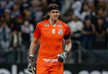 Cássio, goleiro do Corinthians. Foto: Reprodução
