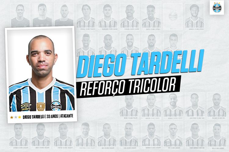 Tardelli assina contrato de três anos com o Tricolor. Foto: Divulgação