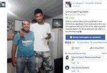 Arnaldo devolveu envelope com dinheiro a Juliano, de branco. Foto: Reprodução