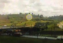 Polícia divulga imagens que mostra helicóptero de Boechat caindo em SP. Foto: Reprodução