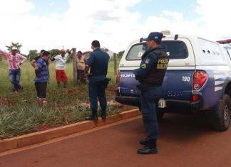 Jovem foi encontrado morto. Foto: Osvaldo Duarte/Dourados News/Reprodução