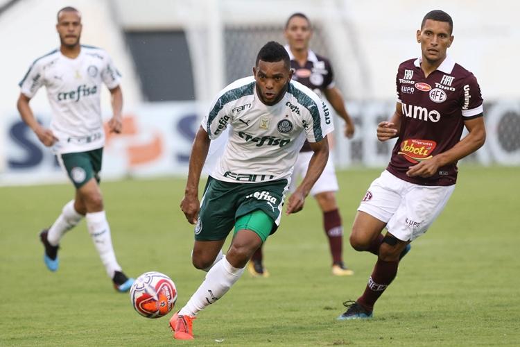 Ferroviária e Palmeiras ficaram no empate. Foto: Cesar Greco/Agência Palmeiras