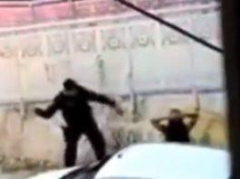 Policial agride mulher em Fortaleza. Foto: Reprodução