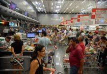 Crescimento ficou um pouco abaixo da estimativa de 2,5%. Foto: Tânia Rêgo/Agência Brasil