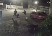 Jovem é executado a tiros por dois homens, em Anápolis. Foto: Reprodução