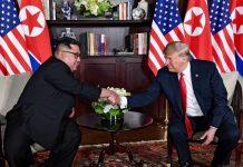 Presidente Trump e o Presidente Kim Jong-un. Foto: White House