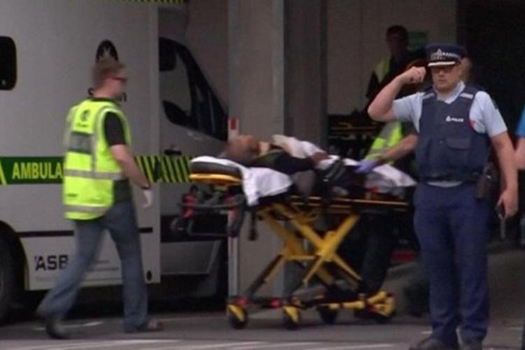 Ataque aconteceu em Christchurch. Foto: Reprodução