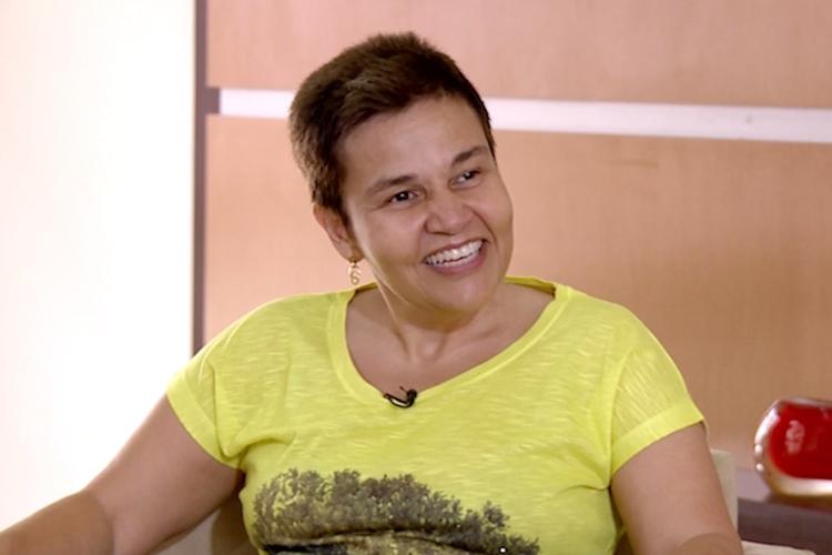 Cláudia Rodrigues. Foto: Reprodução