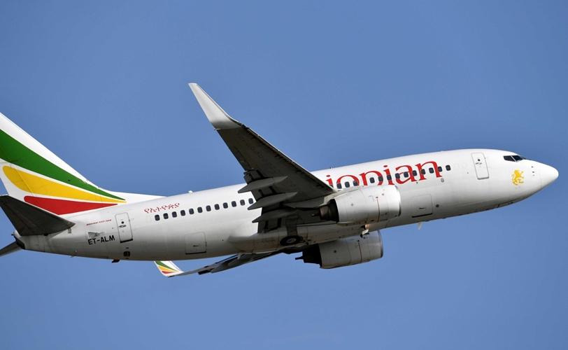 Boeing 737-700 da Ethiopian Airline. Foto: Issouf Sanogo/AFP/Reprodução