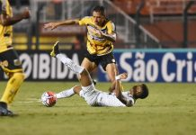 Novorizontino vence o Santos por 1 a 0. Foto: Ivan Storti/Santos