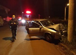 Mulher morreu em acidente em Dourados. Foto: Sidnei Bronka/Ligado na Notícia/Reprodução