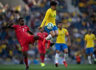 Brasil e Panamá empataram em 1 a 1. Foto: Pedro Martins/MowaPress