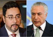 Marcelo Bretas e Michel Temer. Foto: Reprodução